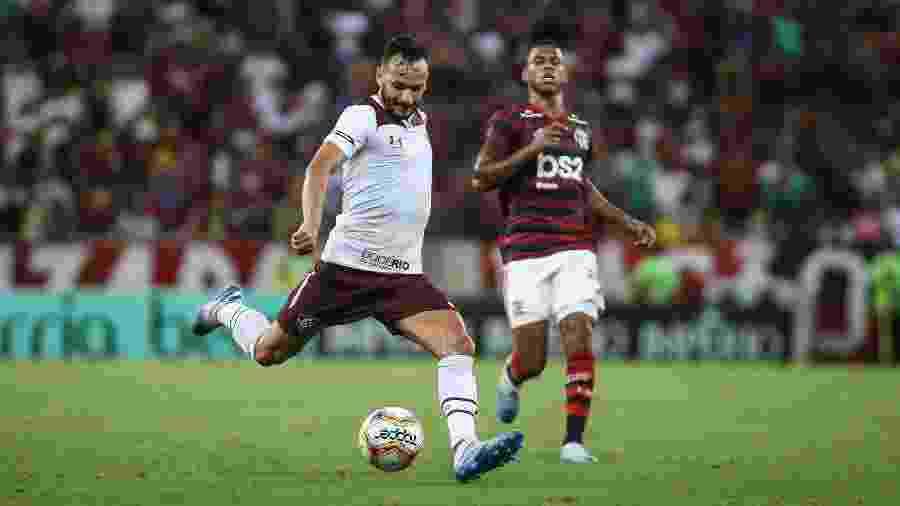 Yago Felipe admitiu que o Fluminense não voltou bem após a paralisação do futebol - Lucas Merçon/Fluminense FC