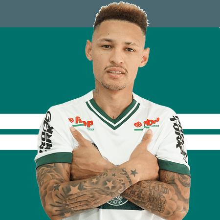 Neílton, meio-campista do Coritiba - Divulgação/Site oficial do Coritiba