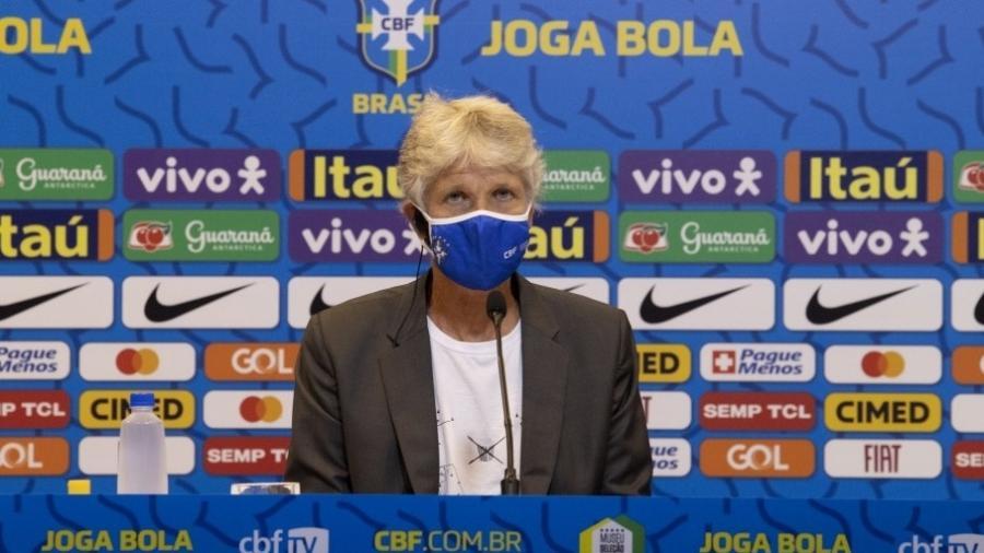 Pia convocou Seleção para torneio amistoso - Divulgação/CBF