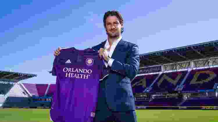 Alexandre Pato no Orlando City Stadium - Reprodução/Twitter @OrlandoCitySC - Reprodução/Twitter @OrlandoCitySC