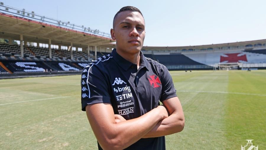 Hoje no Vasco, Léo Jabá deu depoimento marcante, de cunho social, após 1º gol como profissional no Corinthians - Rafael Ribeiro / Vasco