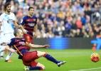 Com lesão na panturrilha, Iniesta desfalca Barcelona no próximo jogo