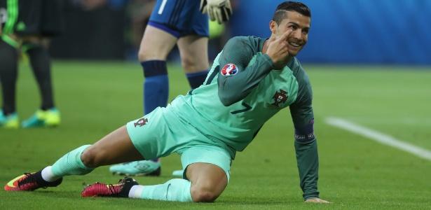 Cristiano Ronaldo ficou fora da lista de convocados para a partida - Petr David Josek