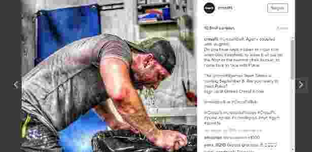Pukie CF - Reprodução/Instagram @crossfit - Reprodução/Instagram @crossfit