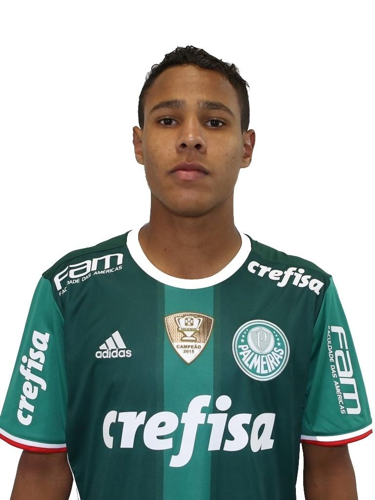 Johnny, meia sub-20 do Palmeiras
