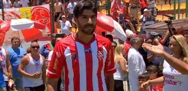 Loco Abreu fez seis gols em sete jogos contra o Vasco pelo Botafogo