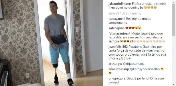 Follmann - Reprodução/Instagram - Reprodução/Instagram