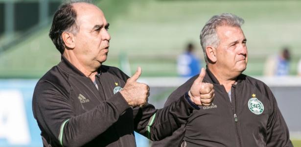 Técnico Marcelo Oliveira permanecerá com a equipe na capital paranaense