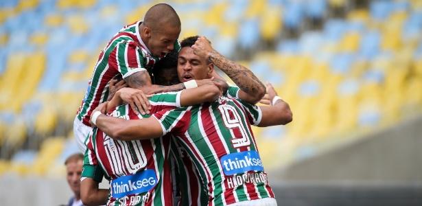 Time do Fluminense luta pela terceira vitória consecutiva no Brasileiro - Lucas Merçon/Fluminense