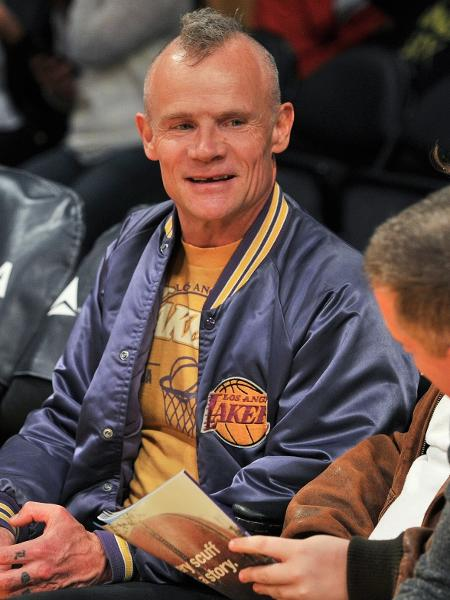 Flea é torcedor do Los Angeles Lakers - Allen Berezovsky/Getty Images