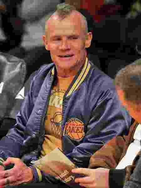 Flea é torcedor do Los Angeles Lakers - Allen Berezovsky/Getty Images