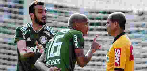 Palmeiras tem muito o que reclamar da arbitragem na última rodada - Ale Cabral/AGIF