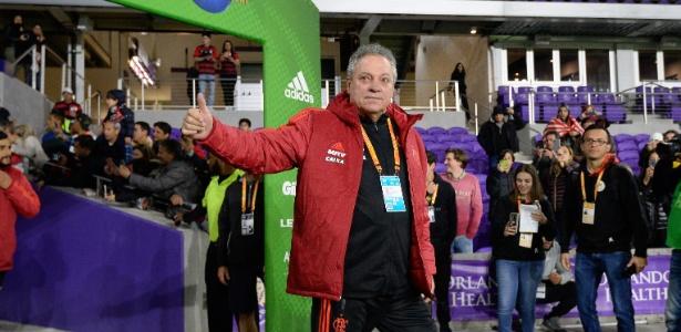 Técnico Abel Braga fez sua estreia pelo Flamengo na Flórida Cup