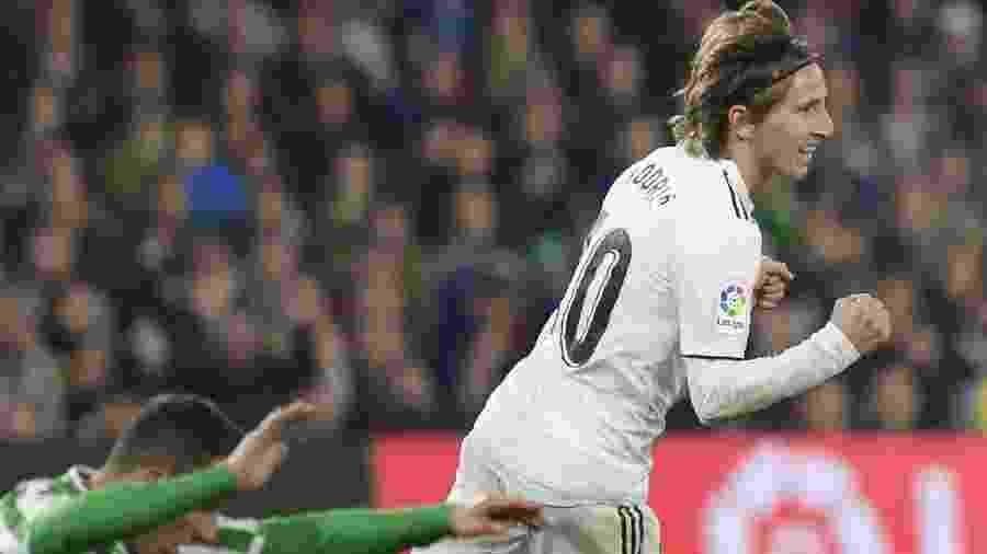 Luka Modric foi eleito o melhor jogador do mundo em 2018 - AFP