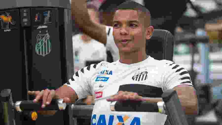 David Braz está emprestado ao Sivasspor, da Turquia, até o final do mês e voltará ao Brasil - Ivan Storti/Santos FC
