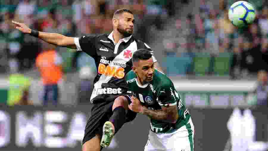Vasco e Palmeiras se enfrentam hoje, às 21h30, em São Januário, pela 31ª rodada do Campeonato Brasileiro - Alan Morici/AGIF