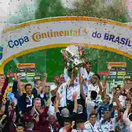 Campeão da Copa do Brasil, Athletico foi o 1º brasileiro a se classificar - Jeferson Guareze/AGIF
