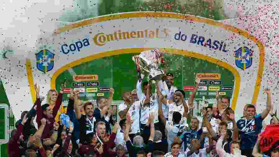 Em 2019, o Athletico foi campeão da Copa do Brasil - Jeferson Guareze/AGIF