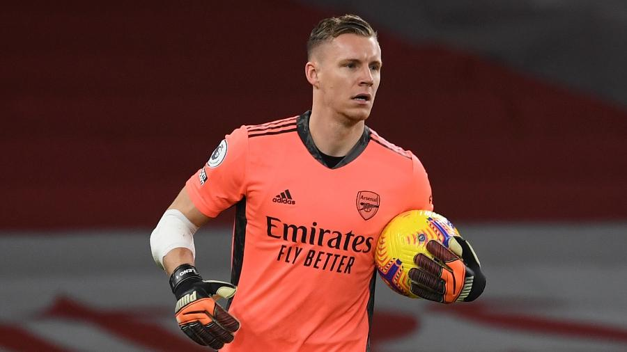 Leno admitiu que jogadores são os maiores responsáveis pelo mau momento do clube - David Price/Arsenal FC via Getty Images