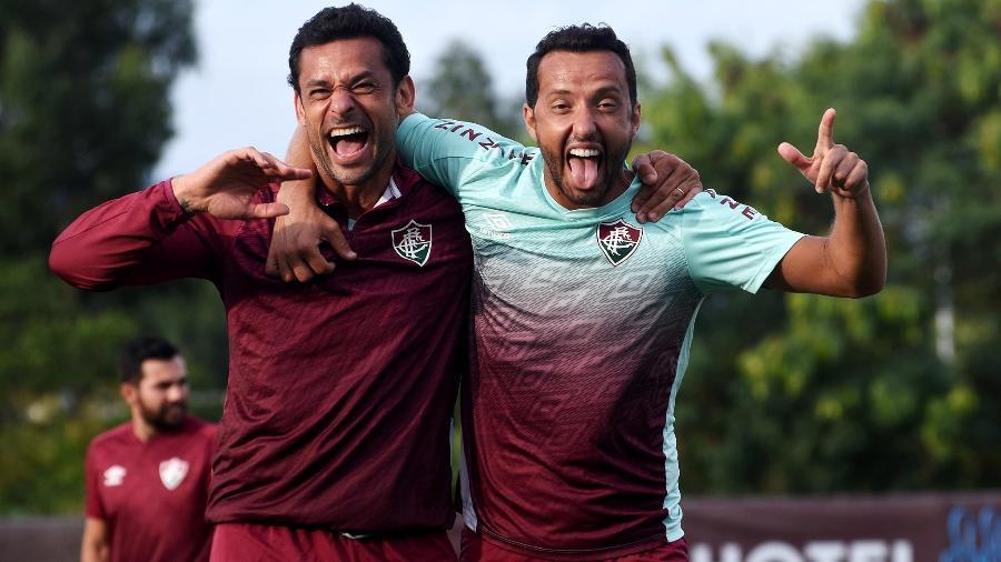 Fred e Nenê são os destaques do Fluminense que enfrenta o Macaé, hoje (6), pelo Carioca - Mailson Santana/Fluminense FC