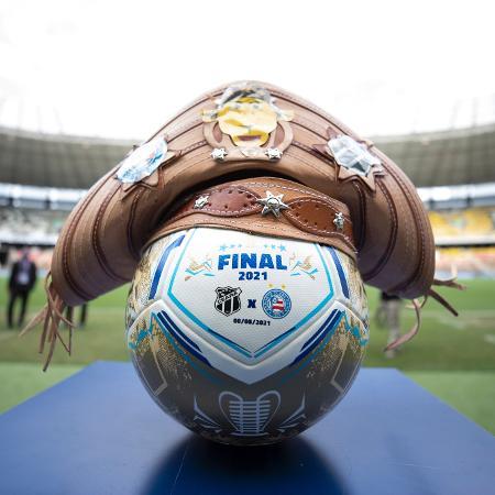 """Bola """"Asa Branca"""" na final da Copa do Nordeste - Lucas Figueiredo/CBF"""