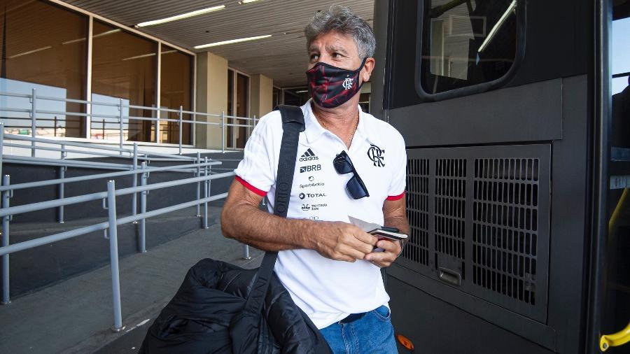 Técnico Renato Gaúcho inicia nova fase da carreira no Flamengo - Alexandre Vidal / Flamengo