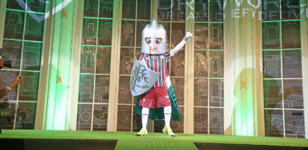 """Guerreirinho assumiu o lugar do """"pejorativo"""" Cartola no cargo de mascote do Fluminense"""