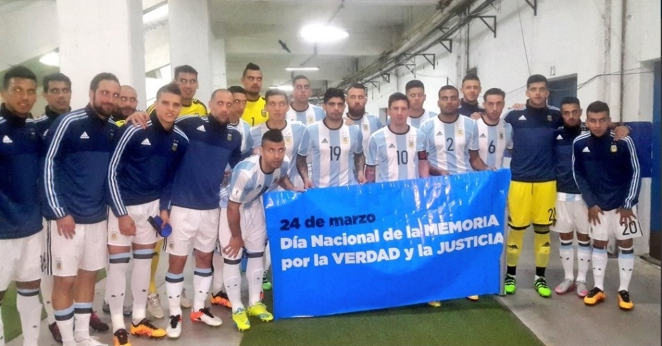 Jogadores da Argentina lembram os 40 anos de golpe militar em vestiário onde ocorria tortura