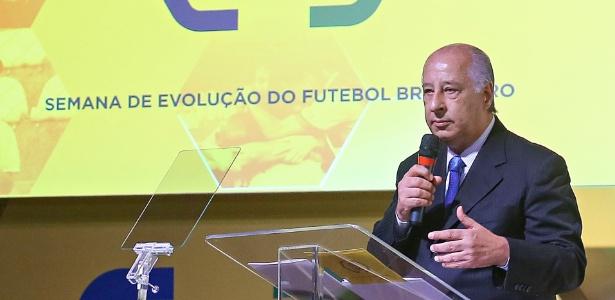 Marco Polo Del Nero, atual presidente da Confederação Brasileira de Futebol