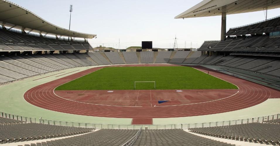 Estádio Olímpico Ataturk, em Istambul (Turquia)