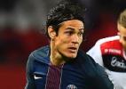 Com dois de Cavani, PSG goleia e recupera 2º lugar do Francês - AFP PHOTO / FRANCK FIFE