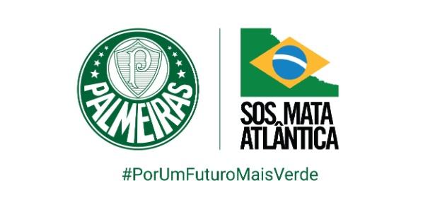 Palmeiras e SOS Mata Atlântica fizeram uma parceria