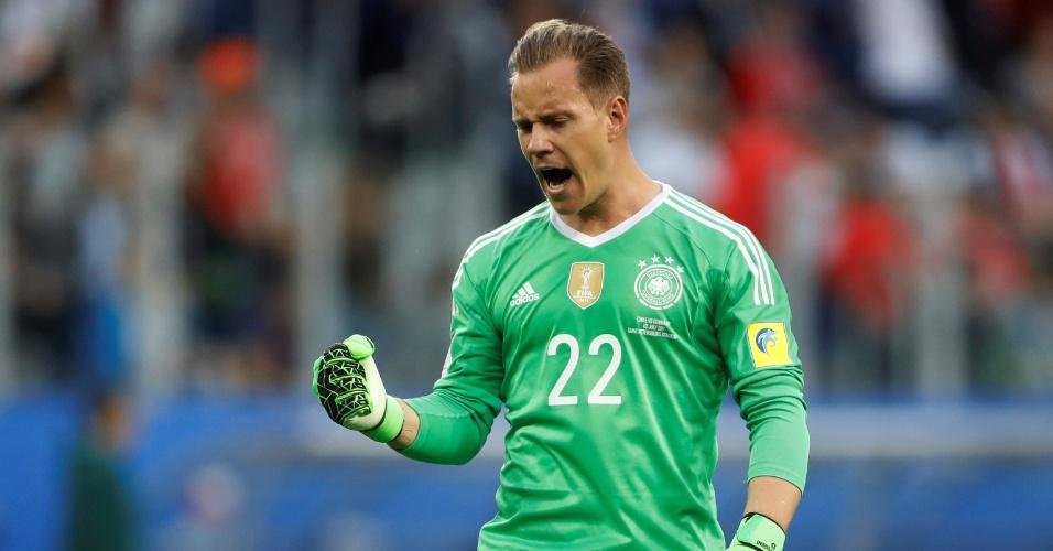 Ter Stegen fechou o gol contra o Chile
