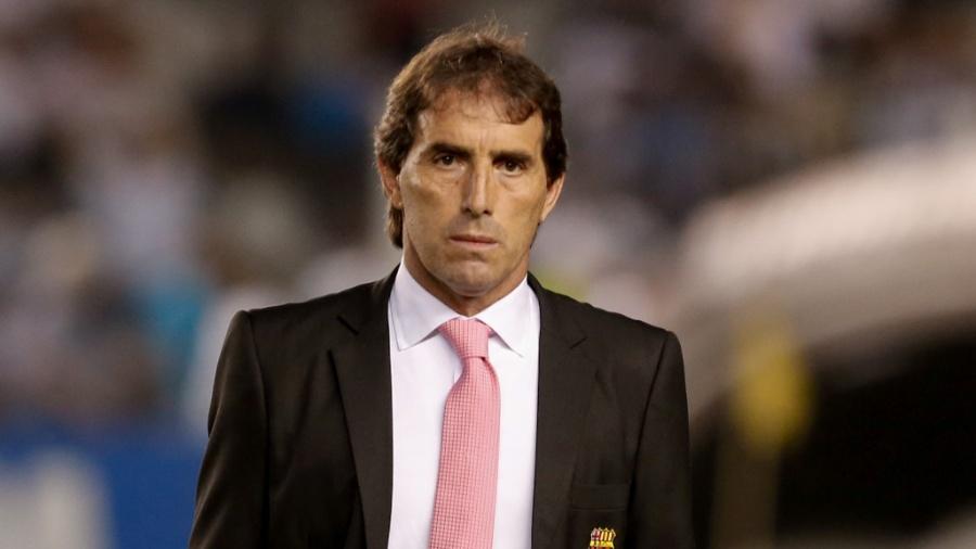 Guillermo Almada é o técnico do Barcelona-EQU - Marcello Zambrana/AGIF