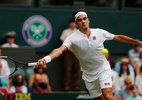 Federer avança em Wimbledon e vira recordista de vitórias do tênis na grama - Andrew Couldridge/Reuters