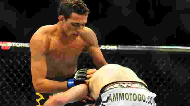 São seis vitórias consecutivas para Charles do Bronx no UFC; é o lutador brasileiro mais embalado - David Dermer/Getty Images/Diamond Images