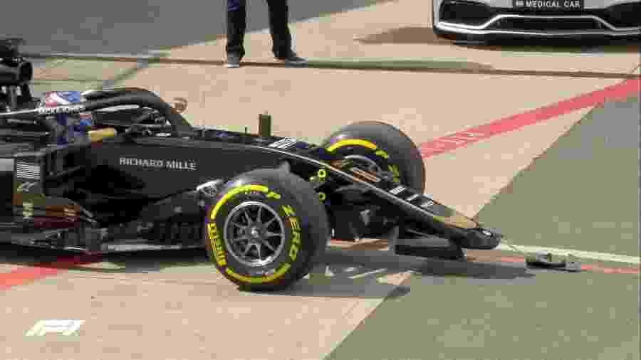 Reprodução/Twitter/Fórmula 1