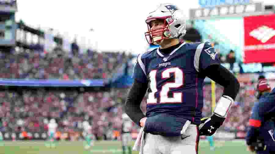 Tom Brady lamenta derrota para o Miami Dolphins  - Maddie Meyer/Getty Images/AFP