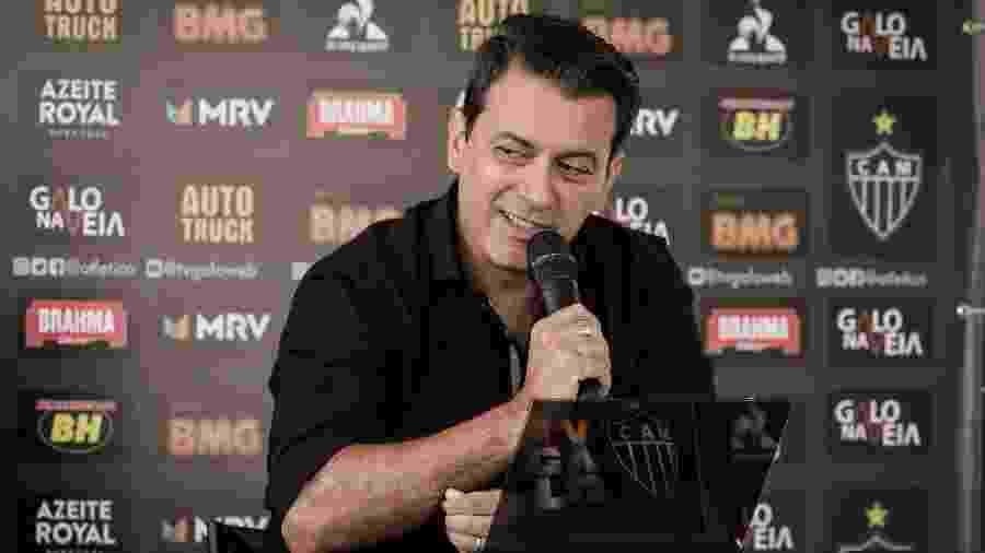 Diretor de futebol chegou ao Atlético em abril de 2019 e deixa o clube antes de completar primeiro ano no cargo - Bruno Cantini/Divulgação/Atlético-MG