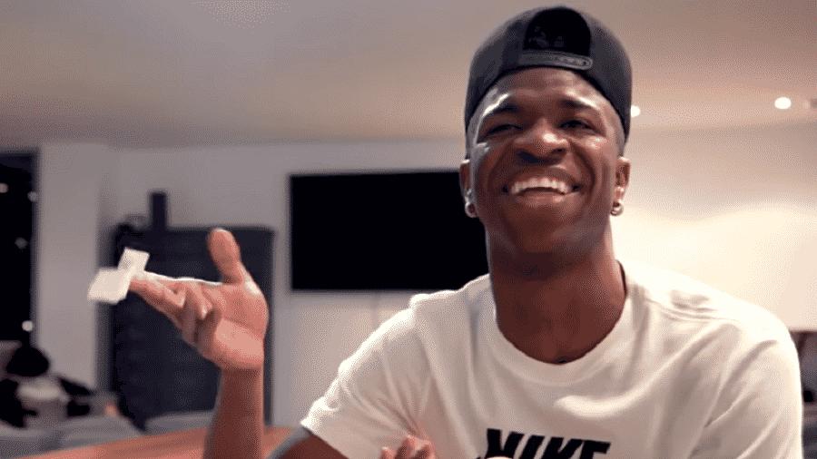 Vinícius Jr responde perguntas de internautas em seu canal do Youtube - Reprodução/Youtube