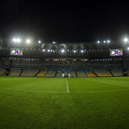 Estádio do Maracanã recebeu Bangu x Flamengo na volta do futebol no Brasil semana passada - Thiago Ribeiro/AGIF