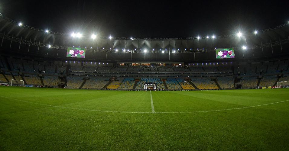 Estádio do Maracanã recebe Bangu x Flamengo na volta do Carioca, nesta quinta-feira