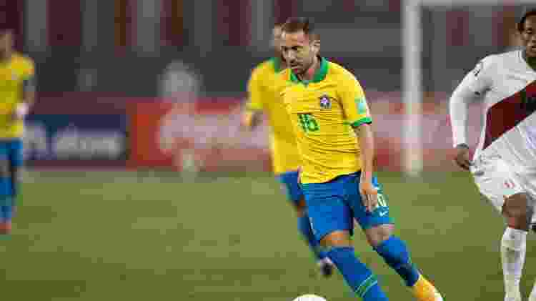 Everton Ribeiro - Lucas Figueiredo/CBF - Lucas Figueiredo/CBF