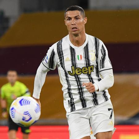 Cristiano Ronaldo, durante partida da Juventus - REUTERS/Alberto Lingria