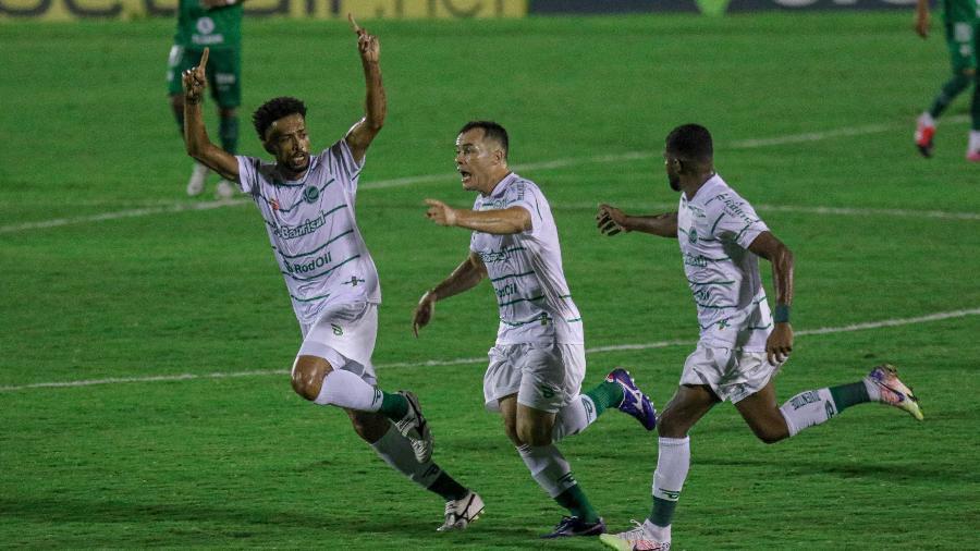 Renato Cajá comemora gol do Juventude contra o Guarani - Fernando Alves/ECJuventude
