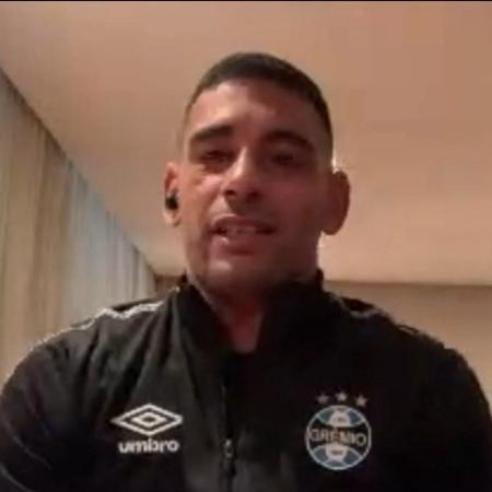 Diego Souza deseja pronta recuperação a Renato e não esconde preocupação com covid - Reprodução/SporTV