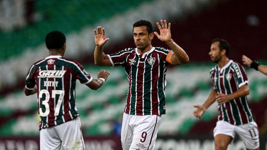 Fluminense de Fred depende só de si para se classificar às oitavas de final da Libertadores - Lucas Merçon/Fluminense FC