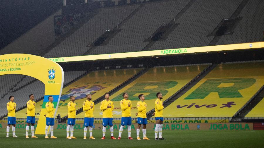 Brasil x Bolívia, na Neo Química Arena - Lucas Figueiredo/CBF