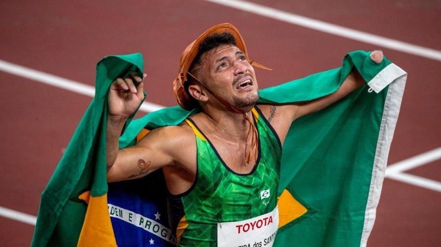 Petrucio conquista ouro nos 100m nas Paralimpíadas de Tóquio - Alê Cabral/CPB
