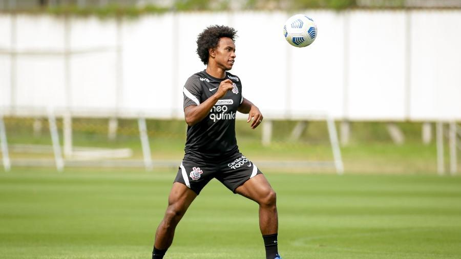 Willian reestrea pelo Corinthians no domingo, contra o Atlético-GO  - Rodrigo Coca/ Ag. Corinthians